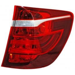 CALAVERA BMW X3 11-17 EXT LEDS ROJO/BCO/AMBAR TYC DER