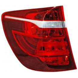CALAVERA BMW X3 11-17 EXT LEDS ROJO/BCO/AMBAR TYC IZQ