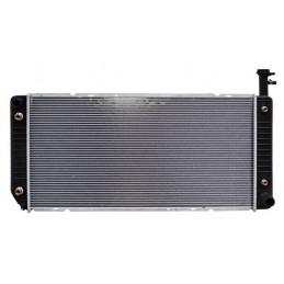 RADIADOR EXPRESS VAN 03-20 AUT V8 5.3L/ 6.0L 17 1/4X 34 ALUMINIO SOLDADO 7530