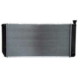 RADIADOR SUBURBAN/ SILVERADO 94-96 STD V8 17 1/3X 33 6/7 ALUMINIO SOLDADO ORIGINAL ****6